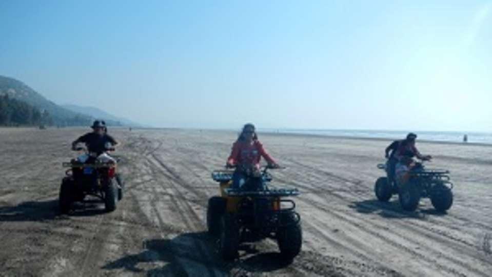 atv-ride, Lotus Beach Resort, Murud Beach-Dapoli, Ratnagiri