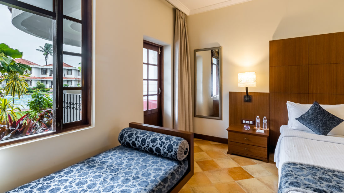 Deluxe Rooms, Heritage Village Resort and Spa, Hotel Rooms in South Goa 3