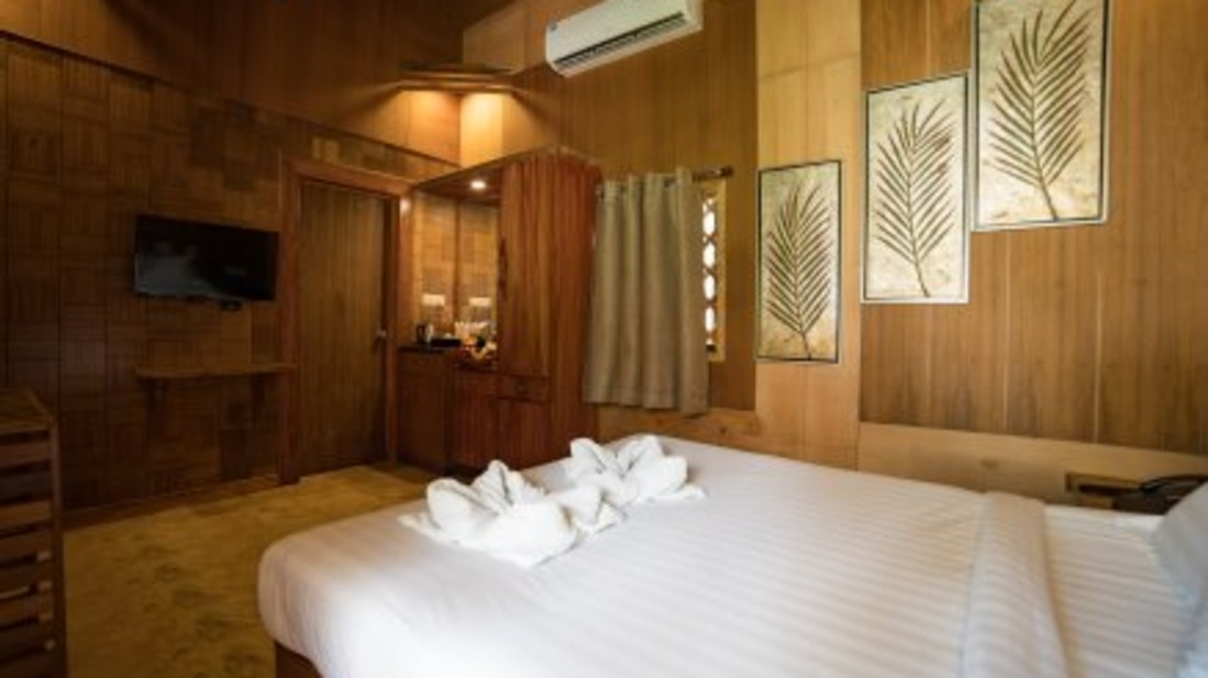 premium rooms, coral reef resort havelock,  private beach
