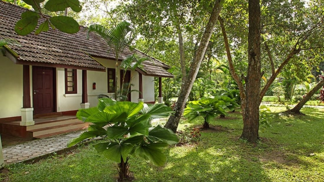 abad-turtle-cottage-inside-garden, Contact Beach Resort in Marari, Beach resorts in Allepey, 4 Star Resorts in Alleppey, Best Beach Resorts in Alleppey, Best Beach Resorts Near Cochin, Beach Resorts in Kerala