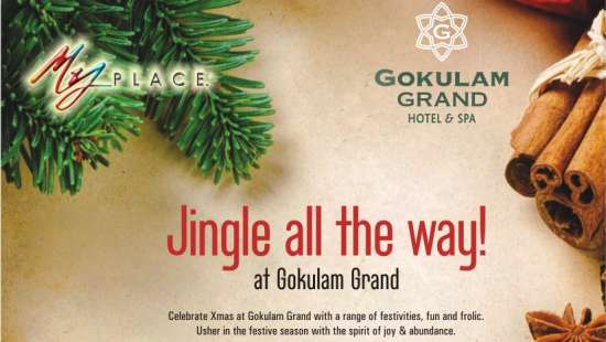 Jingle all the way at Gokulam Grand Hotel