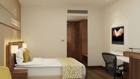 Studio King Room, Rooms in Noida, The Hideaway