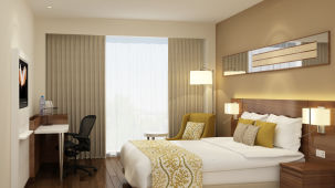 Premier King Room1, Rooms in Noida, The Hideaway
