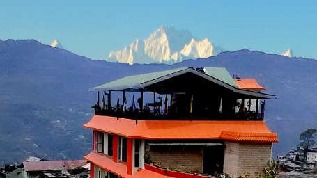 Central Hotel, Gangtok Gangtok facade central hotel gangtok