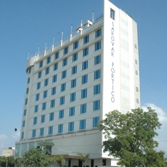 Facade at Hotel Sarovar Portico Jaipur