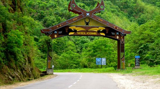 Way o Kohima Nagaland India