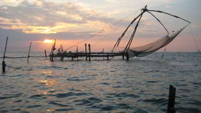 Fishing Net The Gokulam Park Kochi
