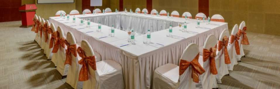 Meeting Room at Nidhivan Sarovar Portico Vrindavan, 5 star hotels in vrindavan