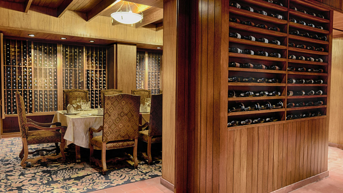 The Grand New Delhi New Delhi Best Wine Collection 1 at The Grand New Delhi Hotel on Nelson Mandela Road  Best Restaurants In Delhi