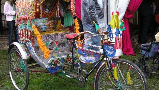 The Haveli Hari Ganga  Haridwar Rickshaw Ride Activities at The Haveli Hari Ganga Hotel Haridwar