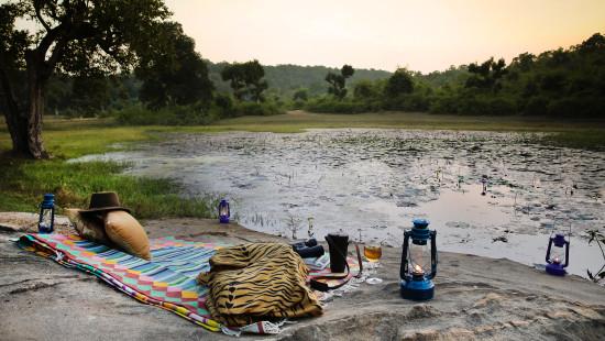 Sun Downers, Rosa Bandhavgarh Meadows Tiger Safari Lodge