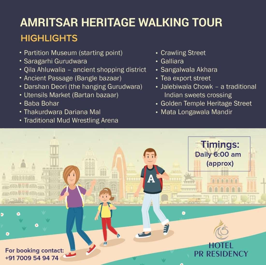 Heritage Walking Tour-Amritsar - Hotel PR