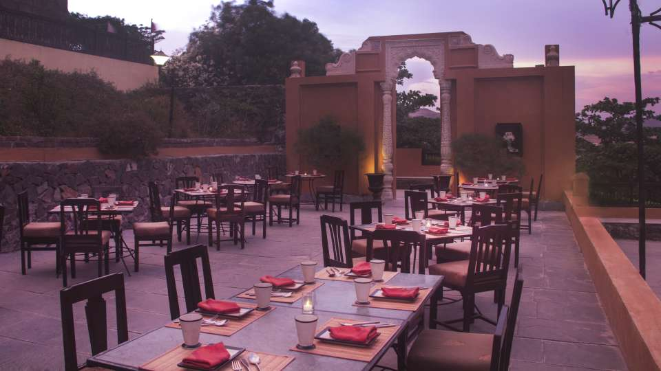 Payatha of  Fort Jadhavgadh Heritage Resort Hotel Pune
