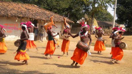 Bandhavgarh National Park Resort, Rosa Bandhavgarh Meadows,Baiga Dance