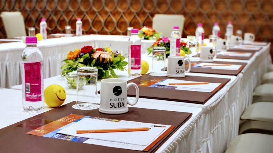 Suba Elite Conf Set Up | Suba Hotels