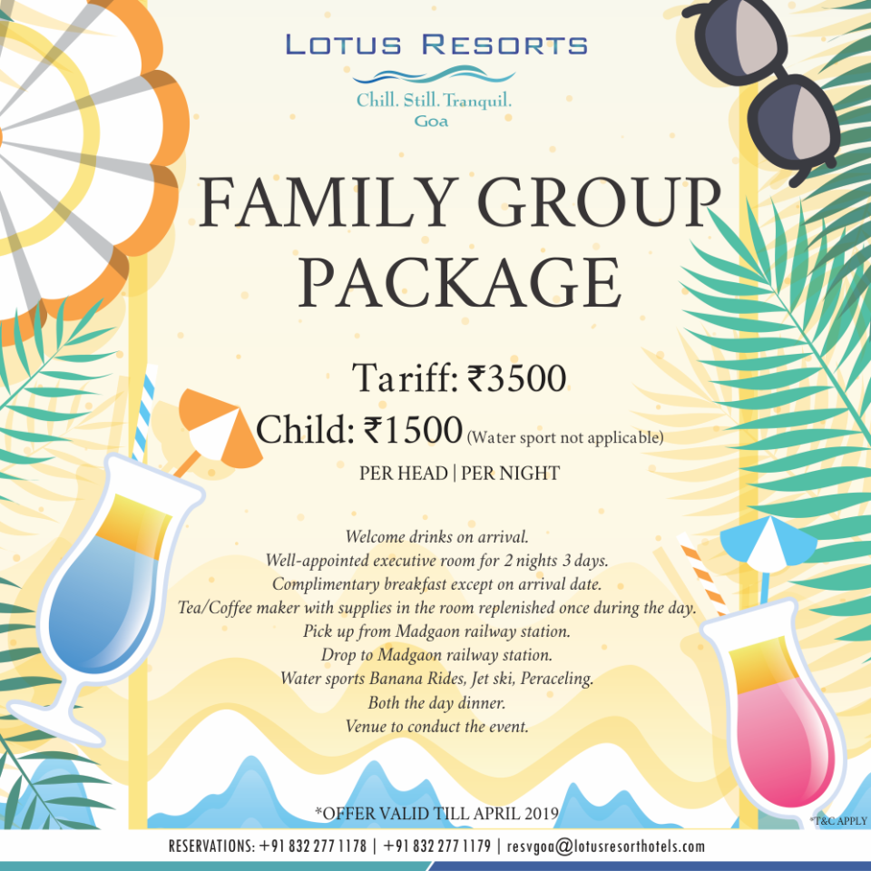 Family Group Package 1