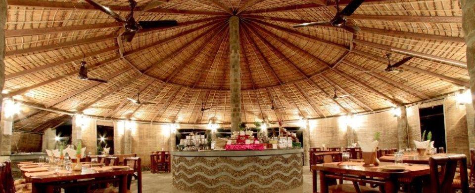 Tiger Camp Resort, Corbett Uttarakhand Gol Ghar Tiger Camp Restaurant Corbett