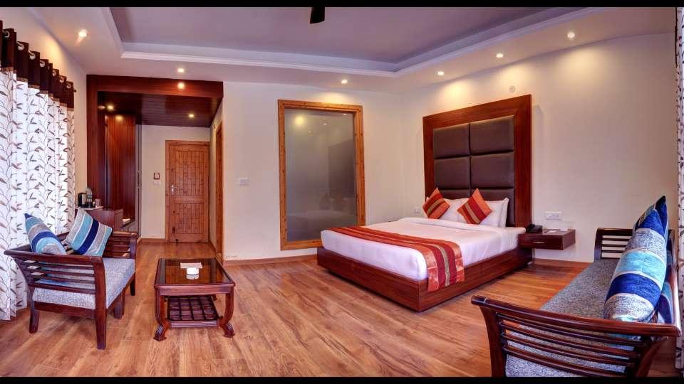Deluxe Room at Summit Chandertal Regency Hotel Spa Manali 5