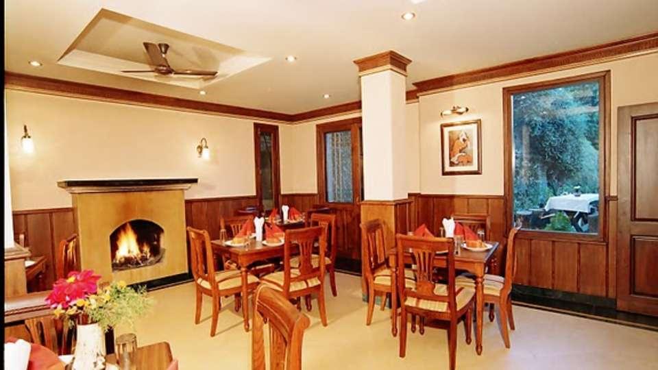 Sun n Snow Inn Kausani Garden Restaurant  hotels in kausani, Uttarakhand hotels, kausani hotels