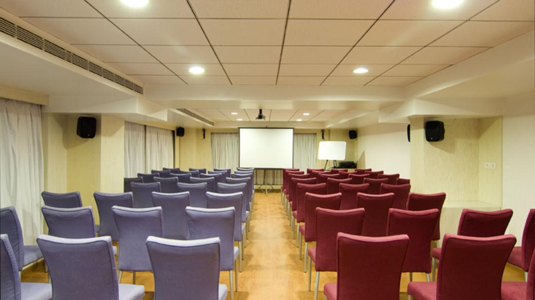 Iris Hotel Bangalore Silica Conference Hall at Iris Hotel on Brigade Road Bangalore