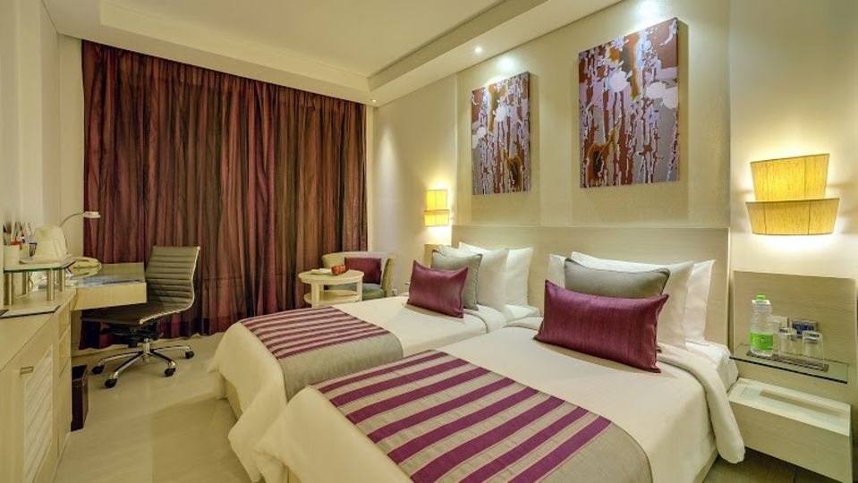 Superior Rooms, Ashtan Sarovar Portico New Delhi, Hotel Near AIIMS Delhi 1