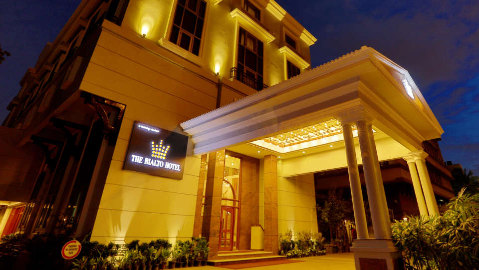 The Rialto Hotel Bangalore Bangalore Facade 3  The Rialto Hotel Bangalore