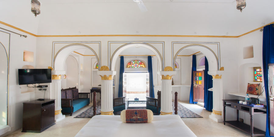 alt-text Suite at Bara Bungalow Kalwar, Jaipur 3, Jaipur Suites, Suites in Jaipur