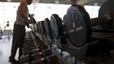 Gym1 Radha Hometel Bangalore