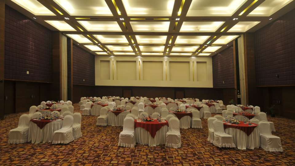 Banquet Hall at The Orchid Hotel Pune 5 Star Hotel in Balewadi Pune