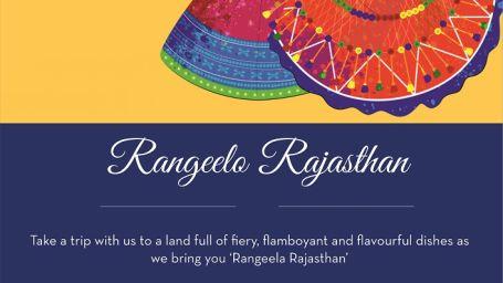 Cascades, Rajasthan Dinner Theme, The Grand New Delhi