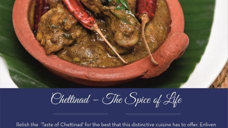 chettinad restaurant, The Grand New Delhi, Restaurants in New Delhi