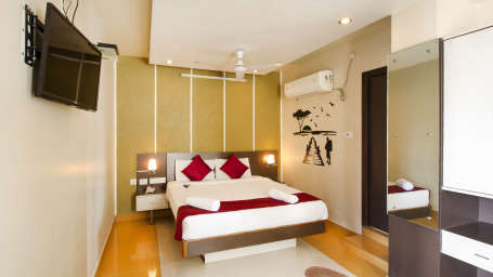 Hotel New Sreekrishna Residency, Hyderabad Hyderabad Deluxe Rooms Hotel New Sreekrishna Residency Hyderabad