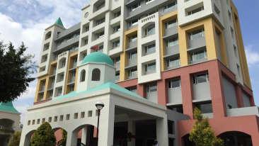 Facade of Wonderla Resort Bangalore