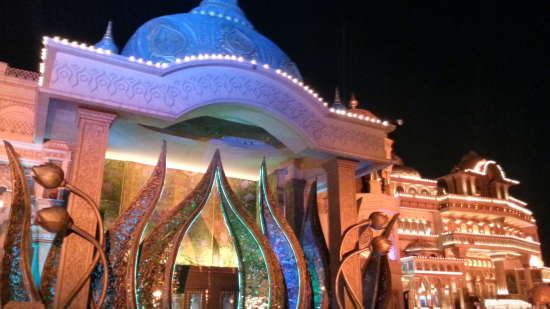 Culture Gully and Nautanki Mahal auditorium  Kingdom of Dreams  Gurgaon
