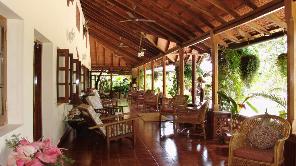 Tranquil Resort, Wayanad Wayanad verandah at tranquil resort kerala
