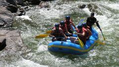 River Rafting at The River View Retreat - Corbett Resort Corbett