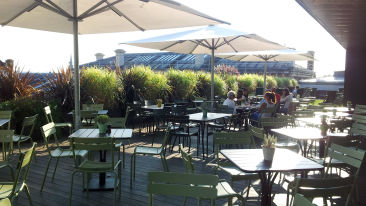 Ashmolean Museum Oxford Rooftop Dining Room Terrace 2014