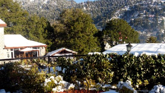 The Naini Retreat Hotel, Nainital Nainital Snow fall 2014