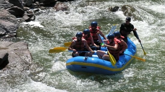 River Rafting at The River View Retreat - Corbett Resort Corbett