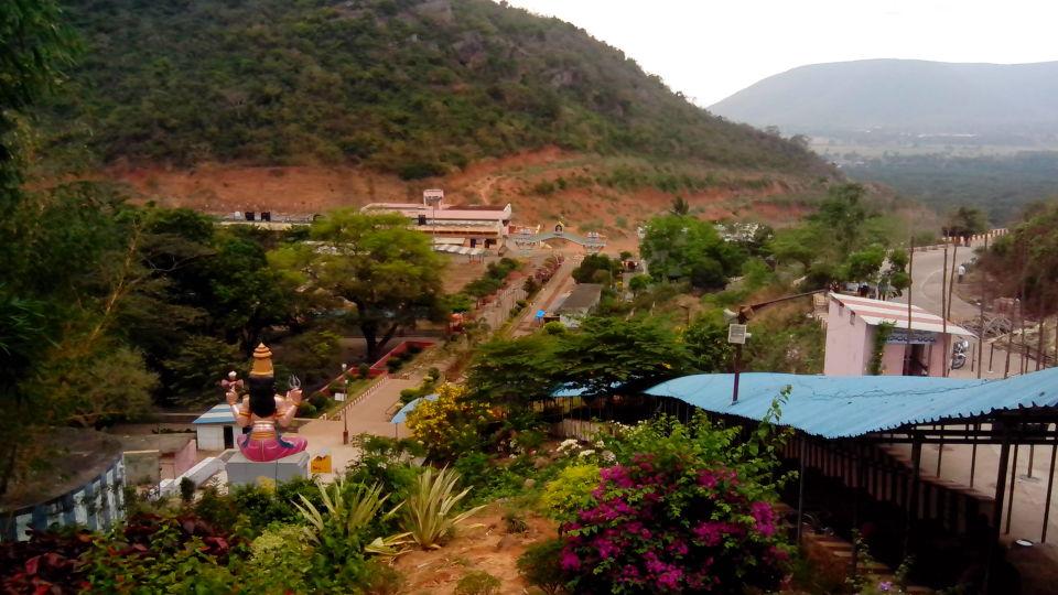 View from Talupulamma Temple, Hotel Paradigm Sarovar Portico Kakinada