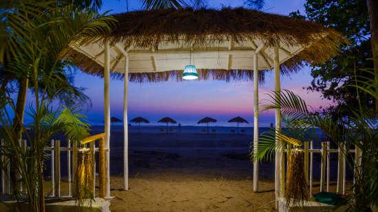 LaRiSa Beach Resort, Goa Goa LaRiSa Beach Resort Goa Beach View 02
