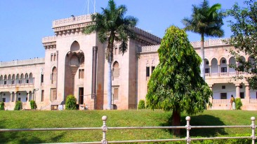 Osmania University near Daspalla Hyderabad