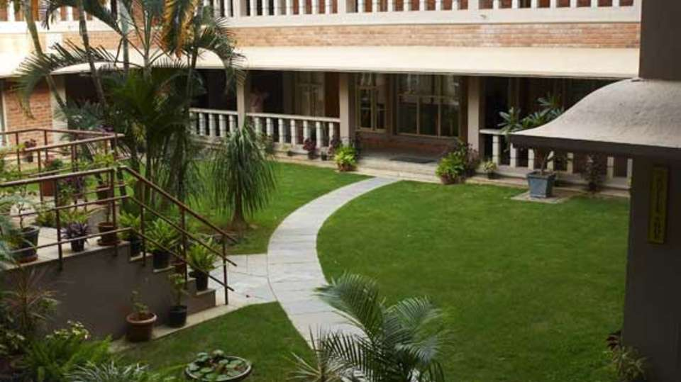 Saiacs CEO center  Hotel SAIACS CEO Centre Bangalore - Lawn view
