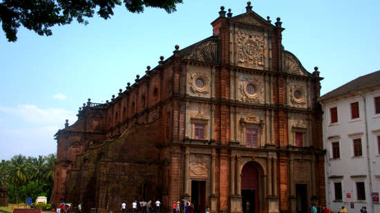 Basilica of Bom Jesus,Phoenix Park Inn, Goa - A Carlson Brand Managed by Sarovar Hotels, places to visit in goa