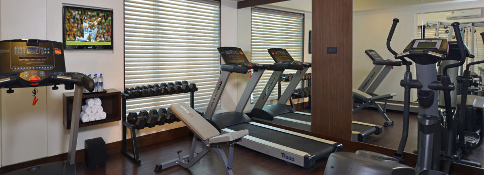 Gym at Residency Sarovar Portico Mumbai