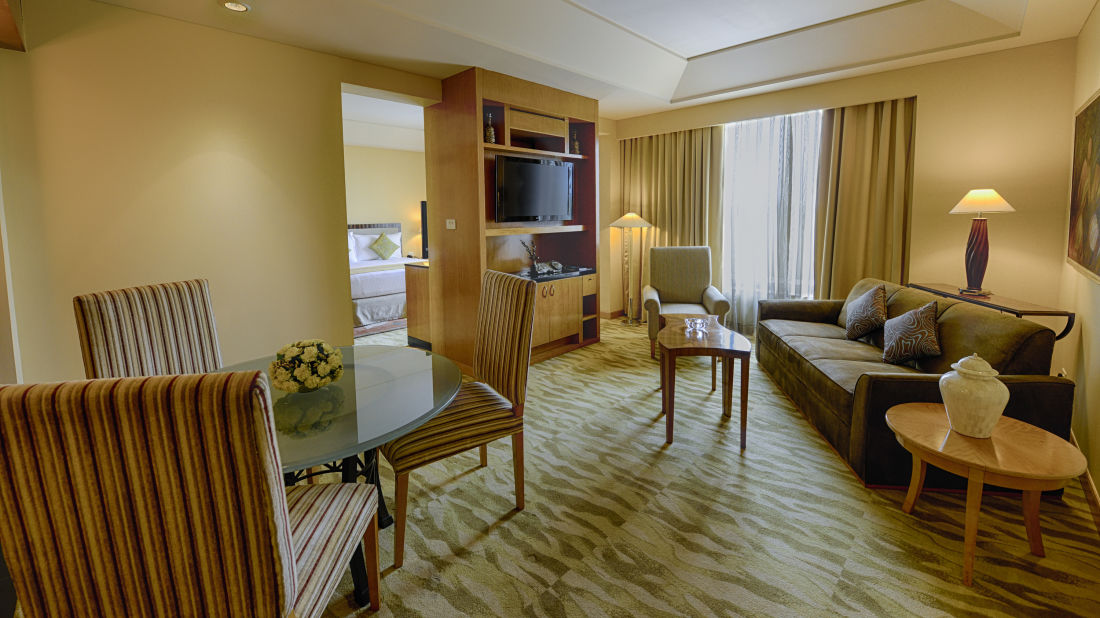 The Grand New Delhi New Delhi Executive Suite at The Grand New Delhi Hotel on Nelson Mandela Road