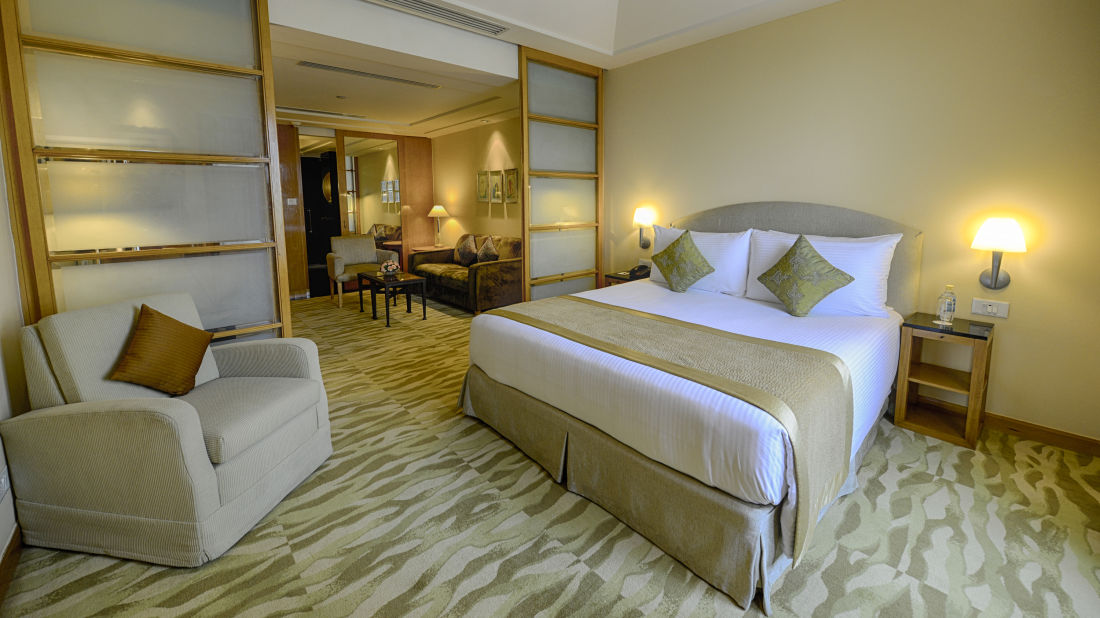 Business Suite in Vasant Kunj at The Grand New Delhi Hotel, Rooms in New Delhi 95