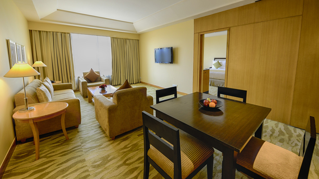 The Grand New Delhi New Delhi Serviced Apartment at The Grand New Delhi Hotel on Nelson Mandela Road