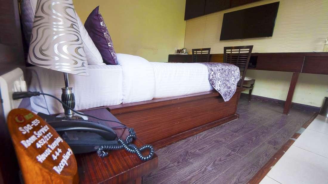 Leopard Duplex Corbett Wild Iris Spa Resort Ramnagar 2