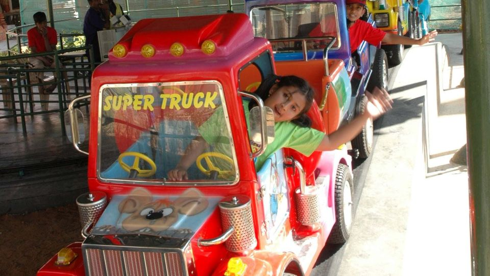 Kids Rides - Convoy at  Wonderla Kochi Amusement Park
